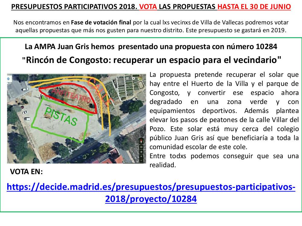 Presupuestos participativos votacion Vallecas 2120788873e08